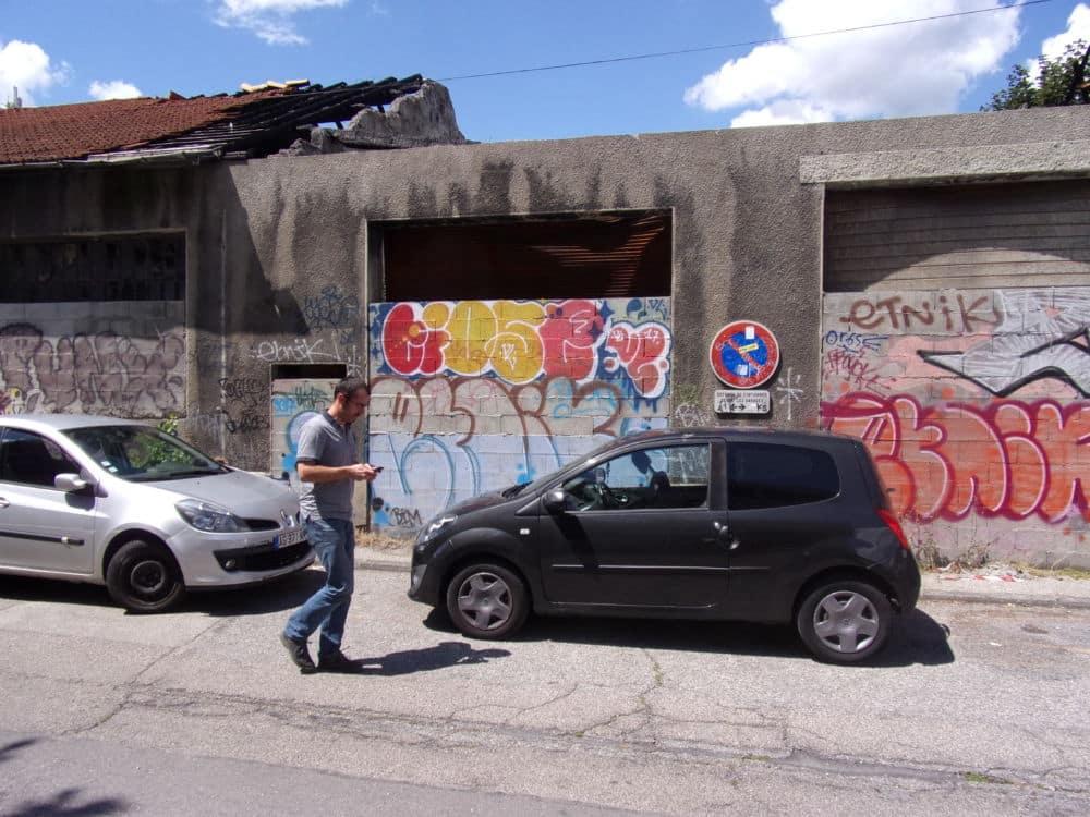 Les Roms habitant rue Antoine Polotti ont été expulsés de leur campement par les forces de l'ordre le 4 juillet au matin. Crédit photo : Samuel Ravier.