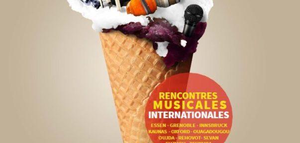 La Ville de Grenoble invite dix villes avec qui elle est jumelée pour des rencontres internationales de musiciens, baptisées Divercities.Affiche de l'édition 2018 des rencontres internationales de musiciens Divercities.