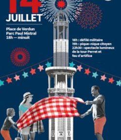 Défilé militaire, pique-nique et feu d'artifice dans le Parc Mistral sont au programme de la fête nationale à Grenoble, ce samedi 14 juillet.