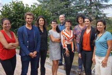 Les élus du groupe Rassemblement citoyen, écologiste et solidaire (RCES) en Auvergne-Rhône-Alpes. Crédit photo : RCES.