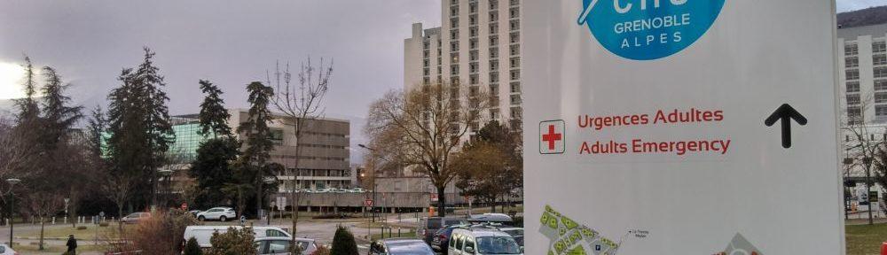 Grenoble: un homme s'immole par le feu au CHU Michallon