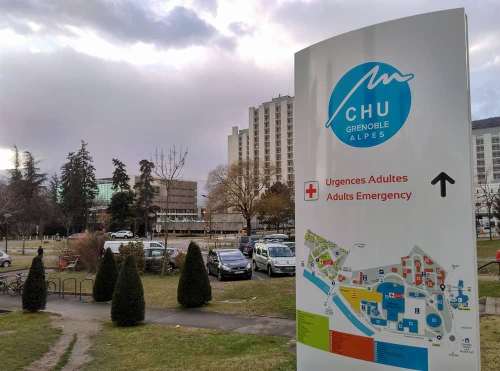 Le Centre hospitalier universitaire Grenoble Alpes (Chuga) © Florent Mathieu - Place Gre'net