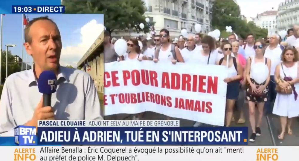 Pascal Clouaire sur BFM TV