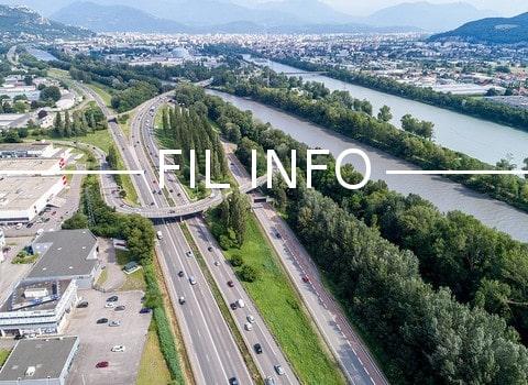 La Frapna a saisi le tribunal administratif de Grenoble en vue d'obtenir la suspension des travaux d'élargissement sur l'A480 commencés il y a deux mois.
