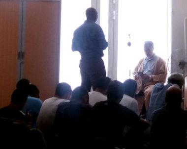Appel à la prière au Centre culturel musulman de Grenoble © Florian Espalieu - Place Gre'net