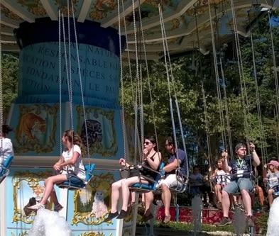 Une journée au parc d'attractions. © Secours Populaire