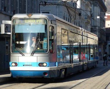 La circulation a été interrompue sur une large partie du réseau, ce vendredi 7 décembre. DR