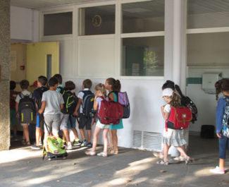 UNE Rentrée des classes à Grenoble. © Séverine Cattiaux - Place Gre'net