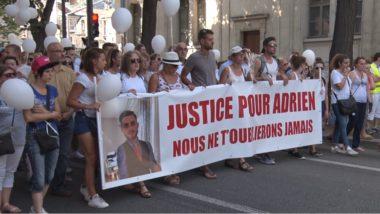 Marche blanche pour Adrien Perez. © Joël Kermabon - Place Gre'net