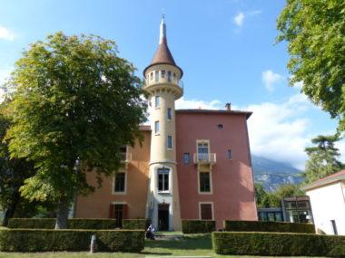 Le Château de la Veyrie, à Bernin © Adèle Duminy