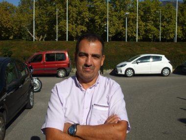 Cherif Boutafa, candidat aux municipales 2020 à Grenoble. © Florian Espalieu - Place Gre'net