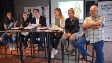 La présentation de la semaine du sport féminin s'est déroulée jeudi 6 septembre au stade Lesdiguières. © Laurent Genin
