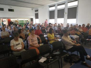 De nombreux représentants d'associations étaient présent lors de la présentation du Forim. © Joël Kermabon - Place Gre'net