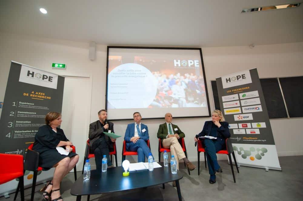 Inauguration de la chaire d'excellence HOPE © fondation Grenoble INP