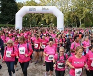 La course à pied (5 km) La Grenobloise édition 2017. © ASPTT Grenoble Athlétisme