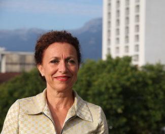 Monique Sorrentino, nouvelle directrice générale du CHU de Grenoble depuis le 1er septembre 2018