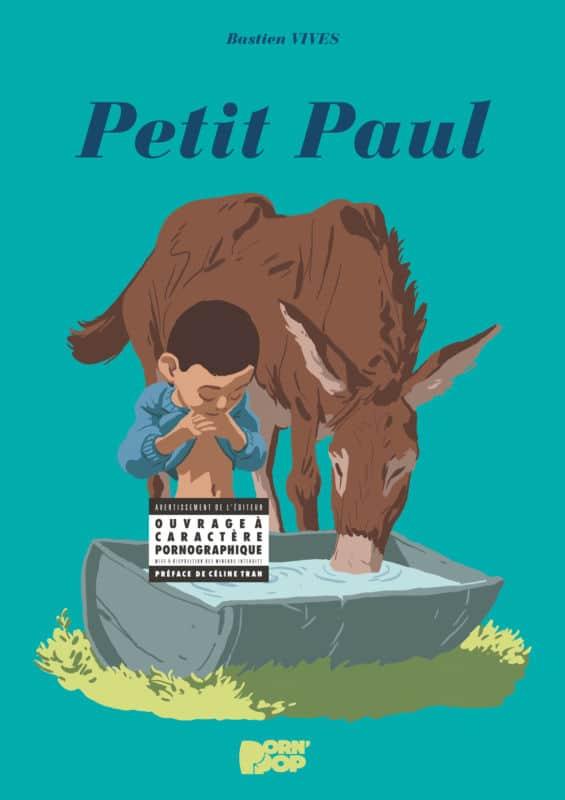 Couverture de la bande dessinée Petit Paul © Glénat