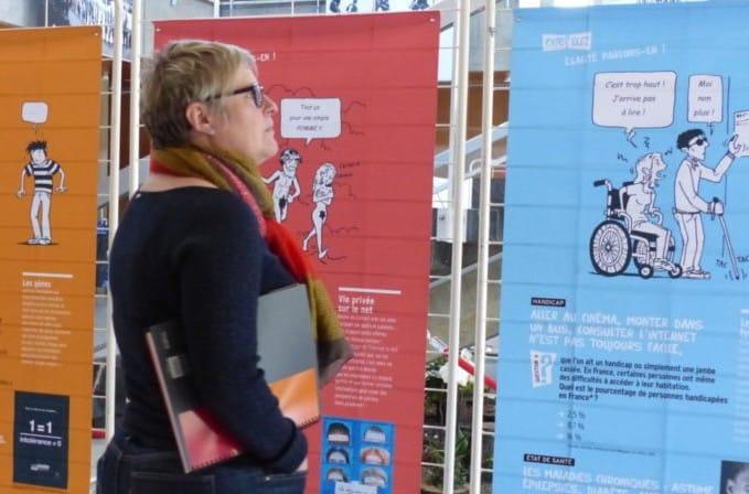 Les jeunes en service civique participeront à la mise en place de la Quinzaine contre les discriminations © Virginie Clerc
