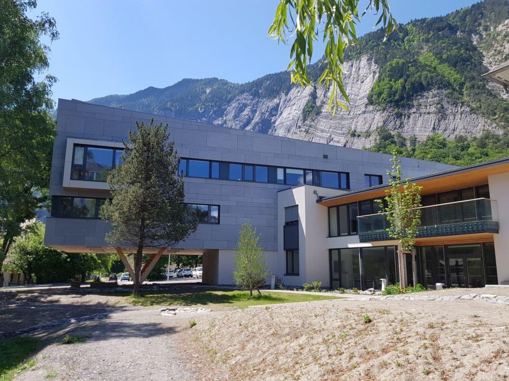 Le nouveau siège de la Communauté de communes de l'Oisans sera inauguré le 29 septembre à Bourg-d'Oisans.© CC Oisans