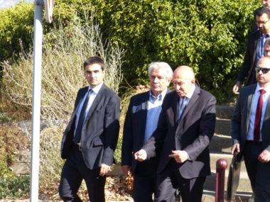 En visite à Grenoble ce vendredi, Gérard Collomb a annoncé plusieurs mesures destinées à lutter contre l'insécurité, dont des renforts d'effectifs policiers