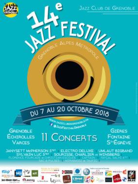 L'affiche du Grenoble-Alpes Métropole Jazz festival.