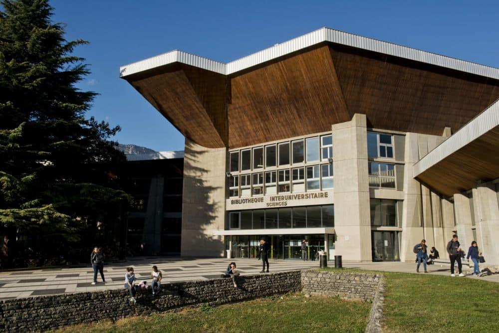 La Bibliothèque interuniversitaire des sciences, désormais Joseph-Fourier © UGA