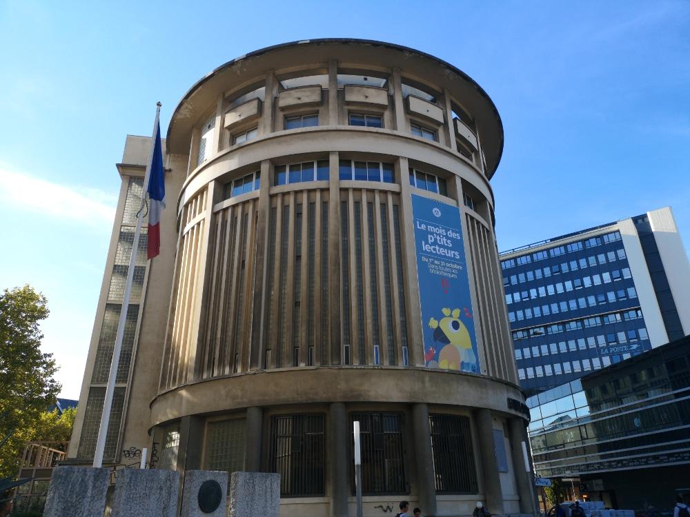 La bibliothèque d'étude et du patrimoine de Grenoble. © Joël Kermabon - Place Gre'net