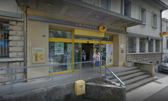 Le Centre courrier de Saint-Marcellin © Google Maps