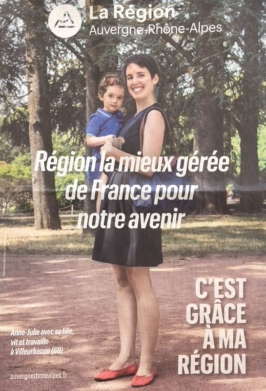 Communication de la Région © Région Auvergne Rhône Alpes