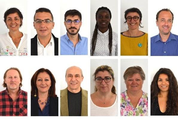 Derrière une Entreprise éphémères, des visages de demandeuses et demandeurs d'emploi © Entreprises éphémères