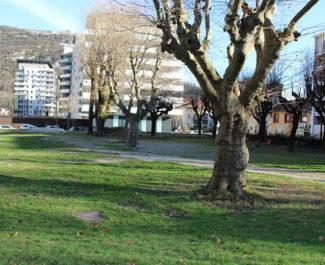 Quel avenir pour le parc Tarze, pollué ? Les habitants souhaiteraient le dépolluer. La Sem Innovia et la Ville projettent d'y construire trois bâtiments. DR