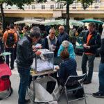 Urne mobile mise en place pour le budget participatif 2018 DR