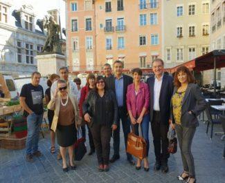 Philippe de Longevialle, Marie-Claire Nepi et Franck Trouilloud ont lancé samedi 14 octobre un collectif baptisé Grenoble Innove en vue des municipales 2020