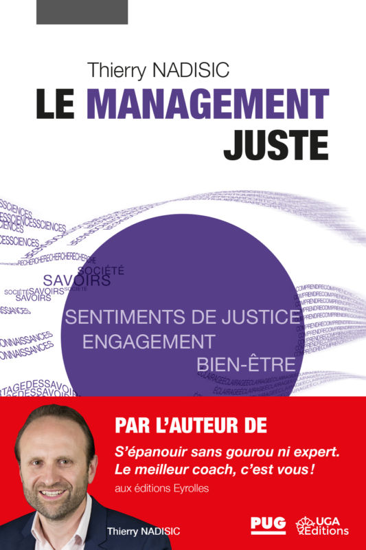 Le Management juste de Thierry Nadisic © UGA Éditions