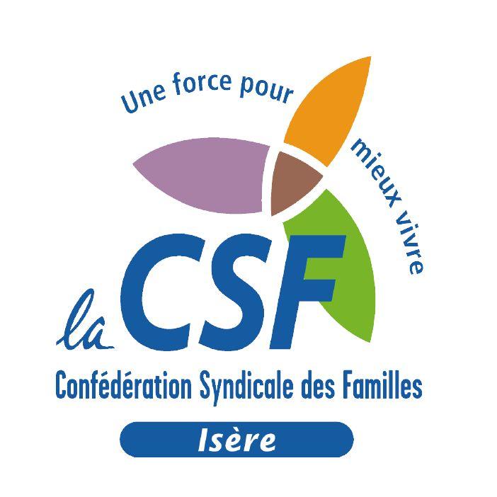 Le logo de la CSF Isère.