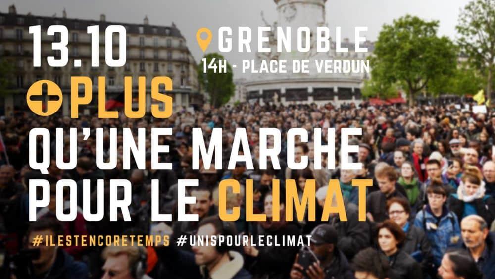 Visuel de la Marche pour le climat © Groupe Facebook Il est encore temps