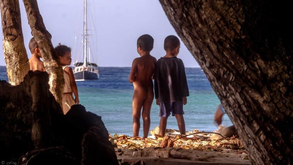 Sur l'île de Tikopia au dérèglement climatique s'ajoute l'attrait de la jeunesse pour la modernité © Corto Fajal