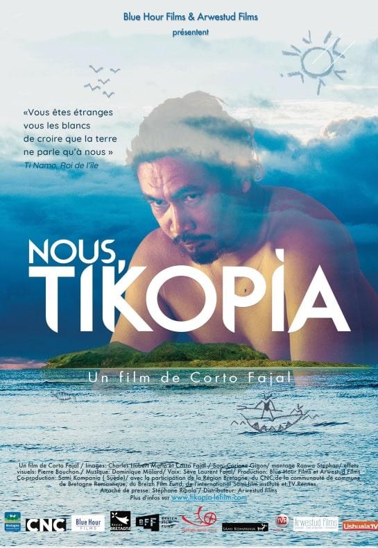 Le roi de l'île de Tikopia est reçu par la Ville de Grenoble dimanche 28 octobre dans le cadre de la projection du film Nous Tikopia en avant-première.L'affiche du film Nous Tikopia.