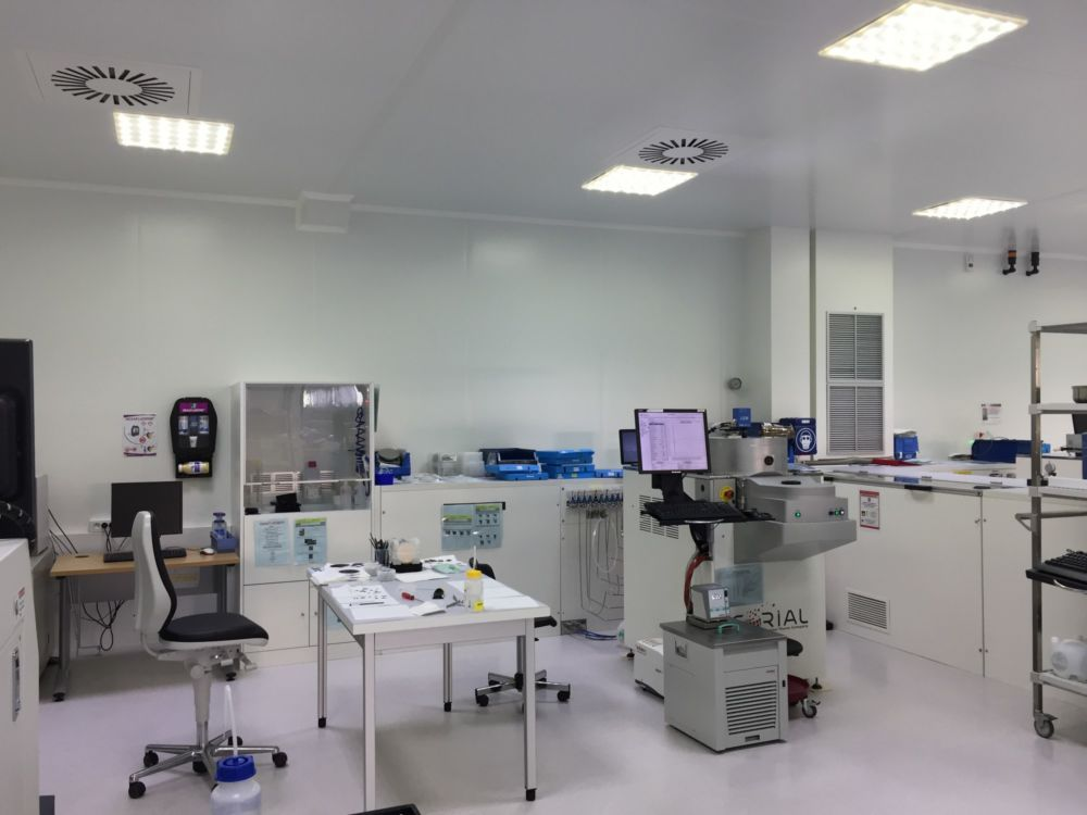 Centre de recherche et développement Plasma-Therm © Plasma-Therm