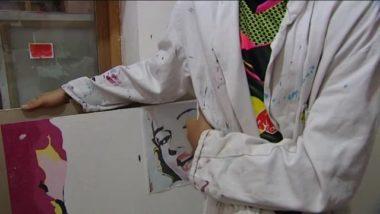 Atelier arts plastiques à l'Unité éducative d'activités de jour (UEAJ) de Grenoble dépendant la DPJJ de l'Isère.
