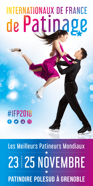 Internationaux de France de patinage du 23 au 25 novembre 2018 à Grenoble