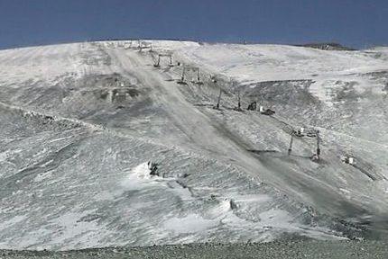 Glacier des 2 Alpes fermé. DR