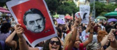 """Après la victoire de Jair Bolsonaro au Brésil, des associations et partis politiques appellent les Grenoblois à se mobiliser """"contre le fascisme""""."""