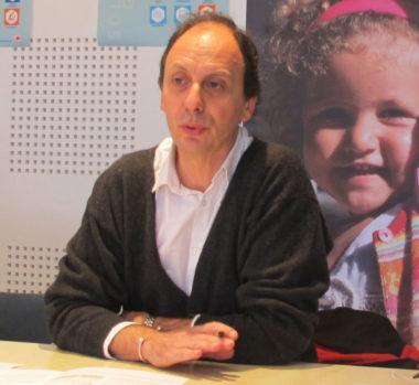 Alain Denoyelle, adjoint à l'action sociale, fait le point sur solidarités-grenoble, un an et demi après son lancement. © Séverine Cattiaux - Place Gre'net