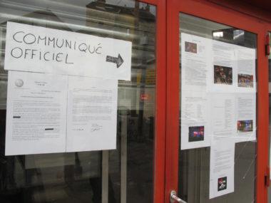 Communiqué de L'engrenage, bar associatif © Séverine Cattiaux - Place Gre'net