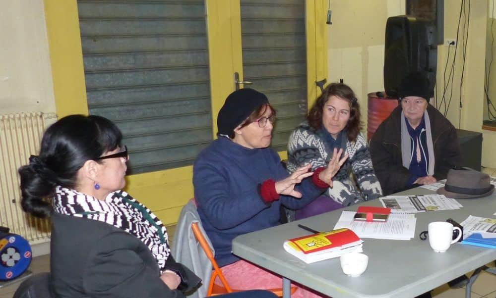 Des militantes de Droit au logement réunies contre la « désaffection » face aux élections locatives © Florent Mathieu - Place Gre'net