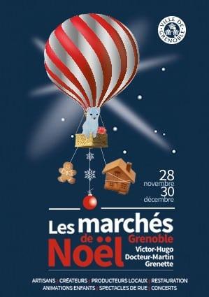 Les marchés de Noël de Grenoble du 28 novembre au 30 décembre 2018
