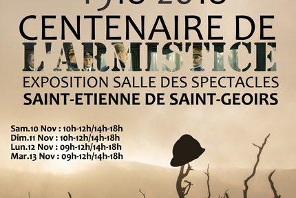 Saint-Étienne-de-Saint-Geoirs consacre une exposition au quotidien des soldats de la Première guerre mondiale, dans le cadre du centenaire de l'armistice.