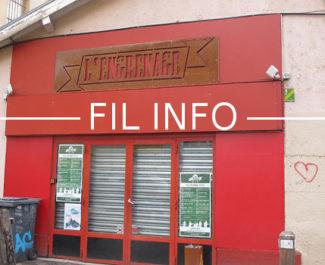 L'équipe de l'Engrenage organise un festival de musique, les 13, 14 et 15 décembre, dans trois salles à Grenoble. Les bénéfices seront reversés à Help SDF.FIL Fermeture administrative de L'engrenage depuis le 7 novembre 2018 © Séverine Cattiaux - Place Gre'net