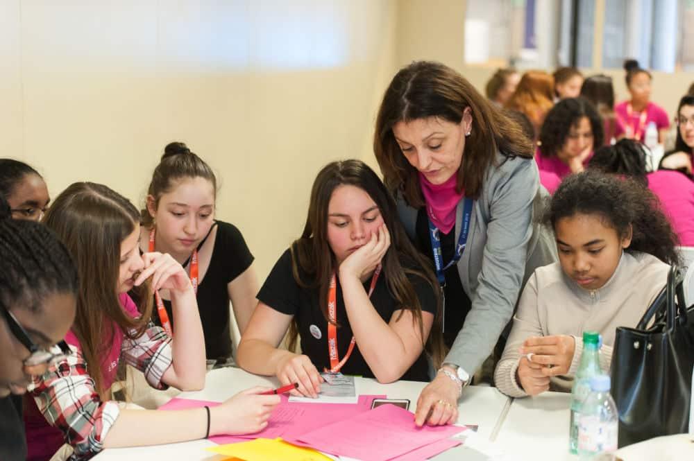 Convaincre les élèves au féminin de l'intérêt des carrières scientifiques © Stéphane Lariven